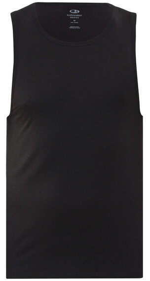 Icebreaker Anatomica Tank Men black/monsoon